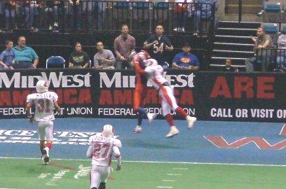 Jeremy Dutcher's second touchdown