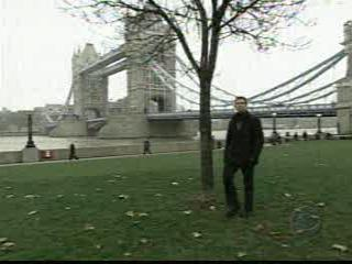 Potters Field Park, London.  Pit Stop for leg 11 of The Amazing Race 7