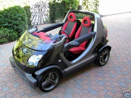 2003 smart fortwo Crossblade limited edition