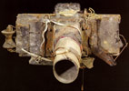 The camera built by Miroslav Tichy.  Click for larger picture.