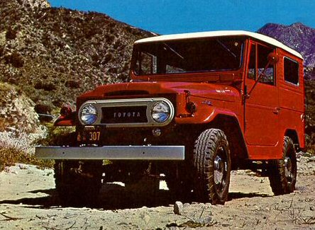 1968 Toyota Land Cruiser - click for full-size